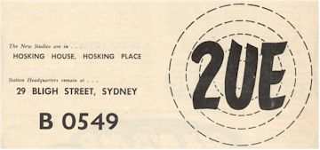 2UE Sydney – Australia's Oldest Commercial Station