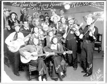 Cowtown Boys and KELW Radio