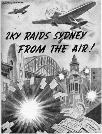 2KY Raids Sydney from the Air
