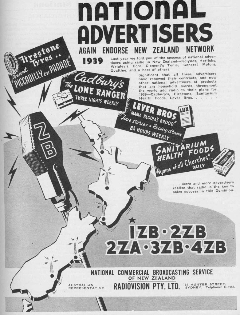 National Advertisers endorse NZ's ZB Network