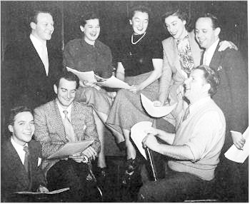 Cast of Dr Paul, Popular Radio Serial