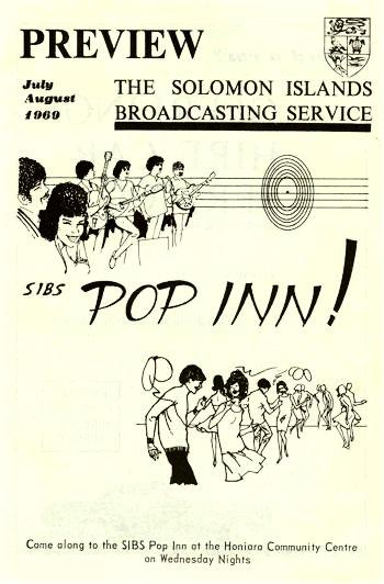 SIBS Pop Inn in 1960's Honiara