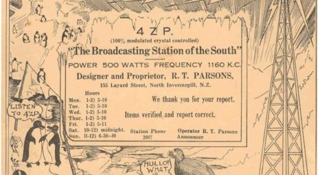 The New Zealand Radio Dial 1930-31
