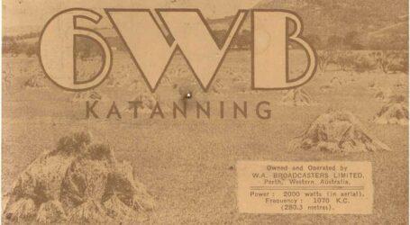 Western Australia Broadcasters 6IX-6MD-6WB