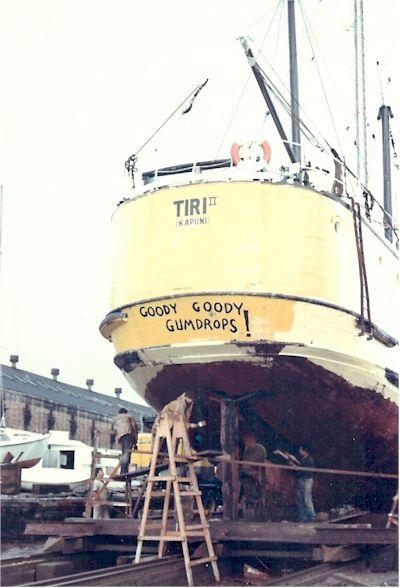 Tiri II Gets Coat of Paint