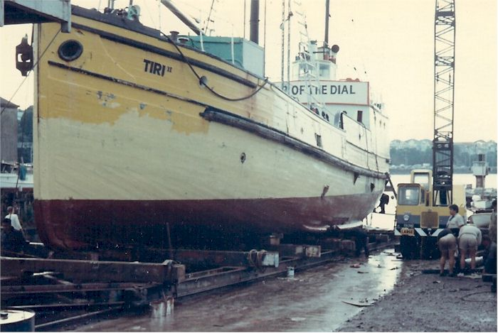 Tiri II On Slipway