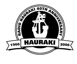 Radio Hauraki 40th Anniversary Logo