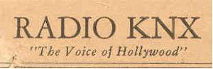California Radio Dial 1928
