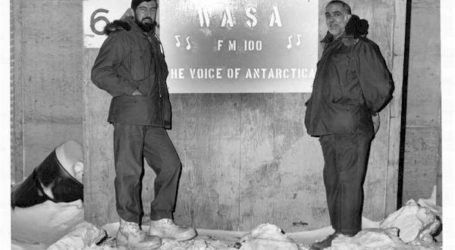 "WASA Radio, AFRS McMurdo Antarctica ""The Most Wonderful Antarctic Station Anywhere"""