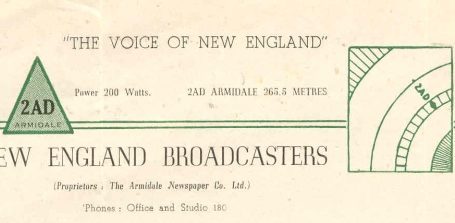 2AD Armidale – The Voice of New England
