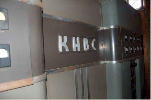 The original KHBC transmitter