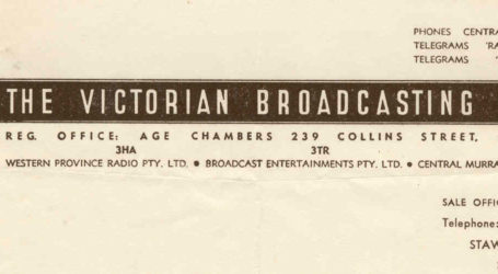 Victorian Broadcasting Network 3TR Gippsland