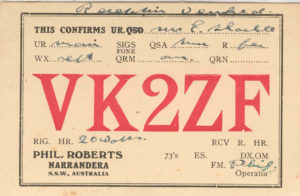 2ZF Narranderra began broadcasting in 1922 © Eric Shackle Collection, Radio Heritage Foundation