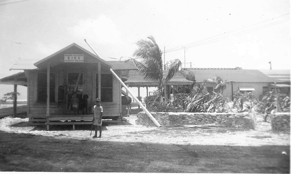 KIBS Canton Island 1952