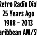 Retro Radio Dial: 1988 Caribbean AM/SW Radio