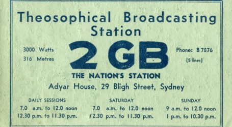 2GB Sydney : Key Station of the Macquarie Network