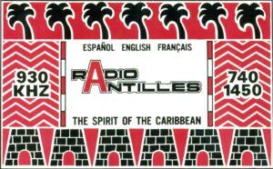 Radio Antilles, Montserrat BWI 930 AM © David Ricquish Collection, Radio Heritage Foundation