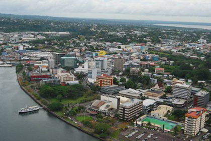 Aerial view of Suva © Pacific.scoop.co.nz