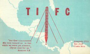 TIFC Faro del Caribe, Costa Rica. 1958 © Cleve Costello Collection, Radio Heritage Foundation