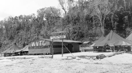 Radio Station WVTG Biak 1944/45