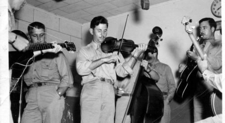 The Pacific Ramblers in the studio of KTOH Lihue, Kauai, Hawaii – 1945