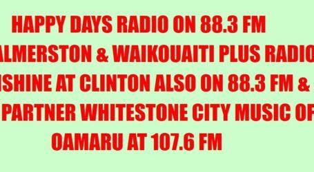 Happy Days Radio, Palmerston