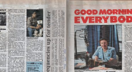 "New Zealand Broadcasting Press Clippings Scrapbook ""A"" 1990 – 1991"