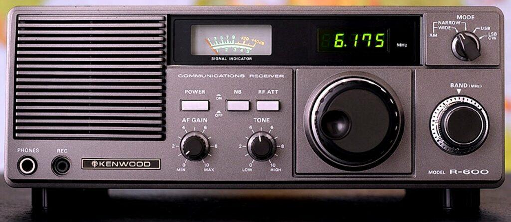 Kenwood R600 receiver