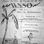 WSSO 670 Voice of Bougainville 1944 QSL