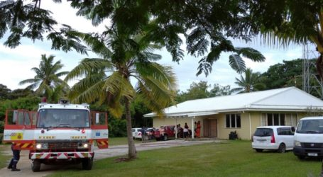 Broadcasting Corporation of Niue Fire