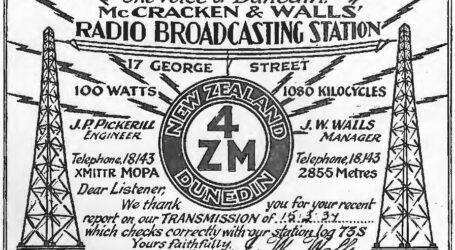 "4ZM ""Voice of Dunedin"""