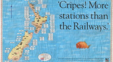New Zealand Broadcasting Press Clippings Scrapbook 1992-1994